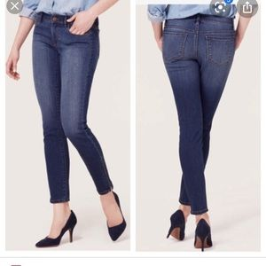 Ann Taylor Loft Modern Skinny Jeans- Sz 8
